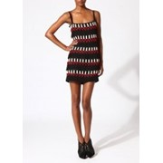 Прокат клубного платья Vena Cava Silk lattice dress фото