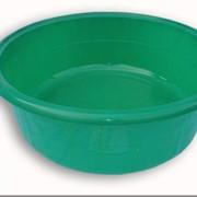 Таз пластмассовый зеленый фото
