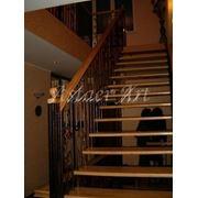 Лестницы эксклюзивные комбинированные фото