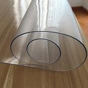 Клеенка ПВХ Лазер прозрачный 0,80мм х 80см х 20м фото