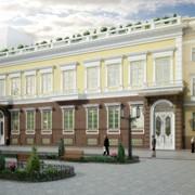 Реставрация архитектурных зданий фото