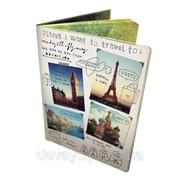 Чехол на паспорт Путешествия фото