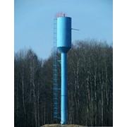 Водонапорная башня Рожновского ВБР-160У (башня-колонна) фото
