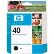 Картридж HP Inkjet Cartridge Black фото