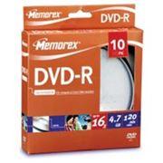 Memorex DVD-R disc 16x 10 Pcs Cake box фото