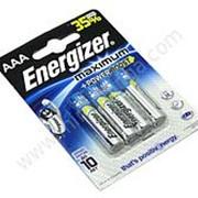Батарейка Energizer Maximum AAA/LR03 FSB4 /12/ фото