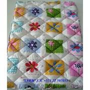 Одеяла детские стеганые, размер 105х145см. фото