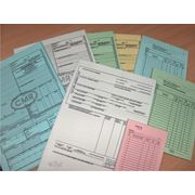 Бланки бухгалтерские на самокопирующейся бумаге фото