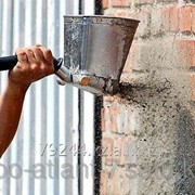 Штукатурная лопата хоппер-ковш фото