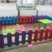 Пластиковый детский заборчик, арт. 38575556 фото