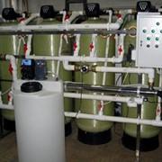 Фильтрационные установки умягчения, обезжелезивания, сорбционной и механической очистки воды фото