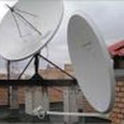 Установка комплектов спутникового оборудования. фото