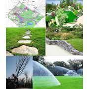 озеленение и благоустройство участка ландшафтный дизайн полный цикл работ фото