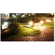 освещение территории участка сада прилегающего к дому фото