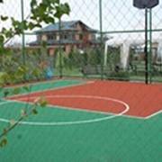 Баскетбольные и волейбольные площадки фото