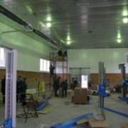 Инфракрасное и воздушное отопление производственных помещений фото