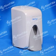 Диспенсер KonTiss ТДК-5 M, 500 мл, белый ударопрочный пластик фото