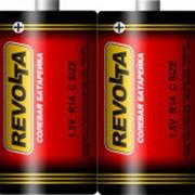 Батарейка 886639 C (886622) R 14 S_2 Revolta (1,5v) , (уп.24 шт.) средняя фото
