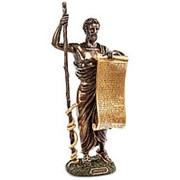 Скульптура Клятва Гиппократа/Великие люди 15х32х9,5см. арт.WS-98/2 Veronese фото