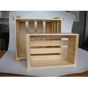 Ящики деревянные export фото