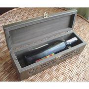 Коробки деревянные для бутылок фото
