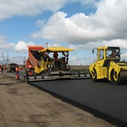 Строительство дорог и путей фото