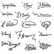 Экспертиза рукописных записей и подписей фото