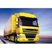 Транспортировка грузов наземным транспортом фото
