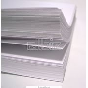 Бумага офисная различных форматов плотности и степени белизны фото