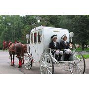 Прокат свадебной кареты фото