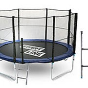 Батут Start Line 12 футов (366 см) с внешней сеткой и лестницей фото