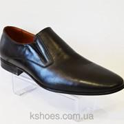 Кожаные мужские туфли Nord 8122 фото