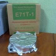 Сварочная порошковая проволока E71T-1 фото