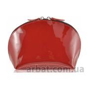 Косметичка W-03 красный кожа Украина фото
