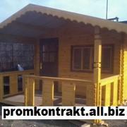Дом из профилированного бруса 6х4 м. Купить в Виннице фото