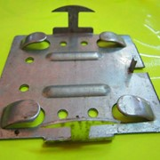 Кляммер для монтажа вентфасадов стартовый из нержавеющей стали 1,2 мм фото