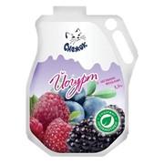 Йогурт питьевой с лесными ягодами 1,5%, 900г фото