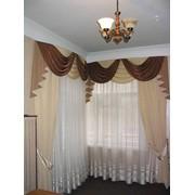 Индивидуальный пошив штор, гардин, ламбрекенов фото