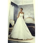 Классическое Свадебное платье А силуэта Жемчужина фото