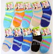 Носки детские теплые махровые травка фото