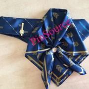 Изготовление зажимов для галстука, запонок, колец для платка женского фото