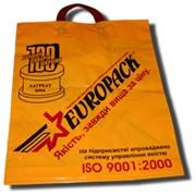 Пакеты с рекламой заказчика фото