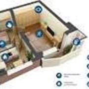 Установка охранной сигнализации в квартирах, домах, коттеджах фото