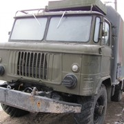 Автомобиль Газ-66 с кузовом-фургоном фото