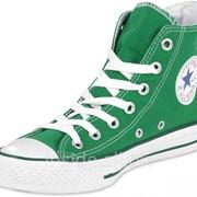 Кеды Converse All Star зеленые фото