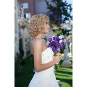 Свадебные прическимакияж в салоне Афродита фото