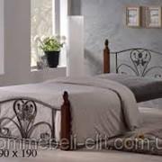 Кровать кованая железная кровать Сима фото