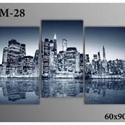 Картина модульная М-28, размер 60х90 фото