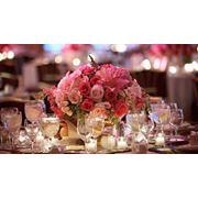 Композиции цветочные для свадебного стола фото