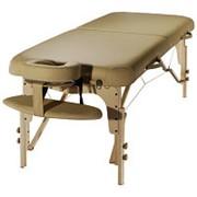 Складной массажный стол SM-3, деревянный фото